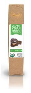 Amella Organic Vegan Dark Chocolate Caramels Gray Sea Salt -- 6 Pieces   Comprar Suplemento em Promoção Site Barato e Bom