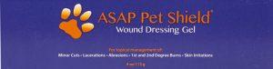 American Biotech Labs ASAP Pet Shield® Wound Dressing Gel -- 4 oz   Comprar Suplemento em Promoção Site Barato e Bom
