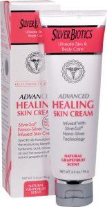 American Biotech Labs Silver Biotics™ Advanced Healing Skin Cream Natural Grapefruit -- 3.4 oz   Comprar Suplemento em Promoção Site Barato e Bom