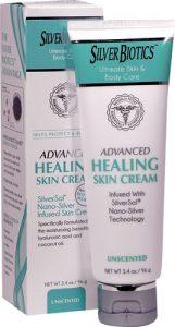 American Biotech Labs Silver Biotics™ Advanced Healing Skin Cream Unscented -- 3.4 oz   Comprar Suplemento em Promoção Site Barato e Bom