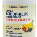 American Health Acidophilus and Bifidum Chewable Fruit -- 1 billion - 100 Wafers   Comprar Suplemento em Promoção Site Barato e Bom