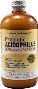 American Health Probiotic Acidophilus Plain -- 20 billion - 16 fl oz   Comprar Suplemento em Promoção Site Barato e Bom
