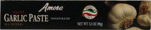 Amore Italian Garlic Paste -- 3.2 oz   Comprar Suplemento em Promoção Site Barato e Bom