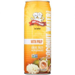 Amy and Brian Coconut Water With Pulp -- 17.5 fl oz   Comprar Suplemento em Promoção Site Barato e Bom