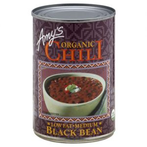 Amy's Organic Chili Low Fat Medium Black Bean -- 12 oz   Comprar Suplemento em Promoção Site Barato e Bom