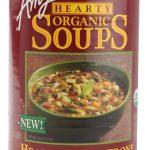 Amy's Organic Hearty Soup Minestrone with Vegetables -- 14.1 oz   Comprar Suplemento em Promoção Site Barato e Bom