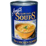 Amy's Organic Low Fat Soup Chicken Noodle -- 14.1 fl oz   Comprar Suplemento em Promoção Site Barato e Bom