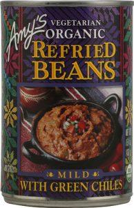 Amy's Organic Refried Beans Mild with Green Chiles -- 15.4 oz   Comprar Suplemento em Promoção Site Barato e Bom