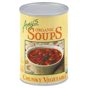 Amy's Organic Soup Chunky Vegetable -- 14.3 oz   Comprar Suplemento em Promoção Site Barato e Bom