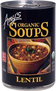 Amy's Organic Soup Lentil -- 14.5 oz   Comprar Suplemento em Promoção Site Barato e Bom