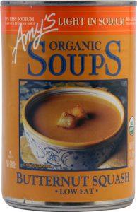 Amy's Organic Soup Light in Sodium Butternut Squash -- 14.1 oz   Comprar Suplemento em Promoção Site Barato e Bom