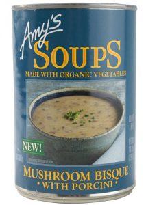 Amy's Organic Soup Mushroom Bisque with Porcini -- 14 oz   Comprar Suplemento em Promoção Site Barato e Bom