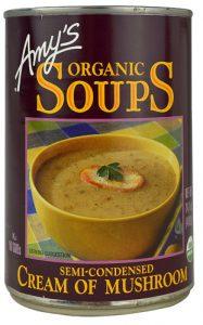 Amy's Organic Soup Semi-Condensed Cream of Mushroom -- 14.1 fl oz   Comprar Suplemento em Promoção Site Barato e Bom