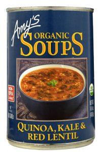 Amy's Organic Soups Quinoa Kale & Red Lentil -- 14.4 oz   Comprar Suplemento em Promoção Site Barato e Bom