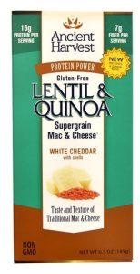 Ancient Harvest Lentil & Quinoa Supergrain Mac & Cheese™ White Cheddar -- 6.5 oz   Comprar Suplemento em Promoção Site Barato e Bom