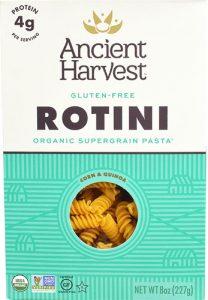 Ancient Harvest Organic Supergrain Rotini Pasta Gluten Free -- 8 oz   Comprar Suplemento em Promoção Site Barato e Bom