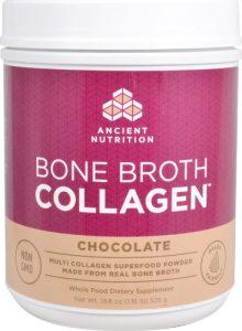 Ancient Nutrition Bone Broth Collagen™ Chocolate -- 30 Servings   Comprar Suplemento em Promoção Site Barato e Bom