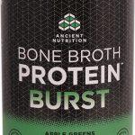 Ancient Nutrition Bone Broth Protein™ BURST Apple Greens -- 30 Servings   Comprar Suplemento em Promoção Site Barato e Bom