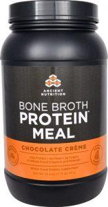 Ancient Nutrition Bone Broth Protein™ MEAL Chocolate Crème -- 20 Servings   Comprar Suplemento em Promoção Site Barato e Bom