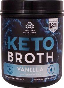 Ancient Nutrition KetoBROTH™ Vanilla -- 20 Servings   Comprar Suplemento em Promoção Site Barato e Bom