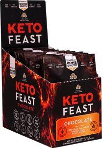 Ancient Nutrition KetoFEAST™ Packet Tray Chocolate -- 12 Packets   Comprar Suplemento em Promoção Site Barato e Bom