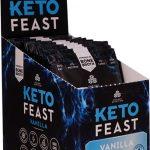 Ancient Nutrition KetoFEAST™ Packet Tray Vanilla -- 12 Packets   Comprar Suplemento em Promoção Site Barato e Bom