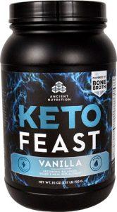 Ancient Nutrition KetoFEAST™ Vanilla -- 15 Servings   Comprar Suplemento em Promoção Site Barato e Bom