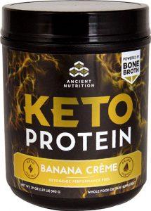 Ancient Nutrition KetoPROTEIN™ Banana Cream -- 17 Servings   Comprar Suplemento em Promoção Site Barato e Bom