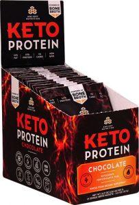 Ancient Nutrition KetoPROTEIN™ Packet Tray Chocolate -- 15 Packets   Comprar Suplemento em Promoção Site Barato e Bom