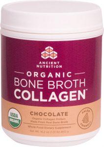 Ancient Nutrition Organic Bone Broth Collagen™ Chocolate -- 30 Servings   Comprar Suplemento em Promoção Site Barato e Bom