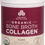 Ancient Nutrition Organic Bone Broth Collagen™ Pure -- 30 Servings   Comprar Suplemento em Promoção Site Barato e Bom
