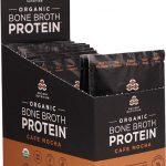 Ancient Nutrition Organic Bone Broth Protein Cafe Mocha -- 12 Packets   Comprar Suplemento em Promoção Site Barato e Bom
