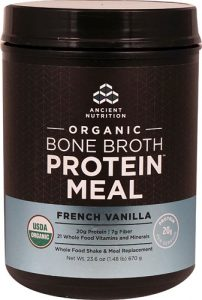 Ancient Nutrition Organic Bone Broth Protein™ MEAL French Vanilla -- 15 Servings   Comprar Suplemento em Promoção Site Barato e Bom
