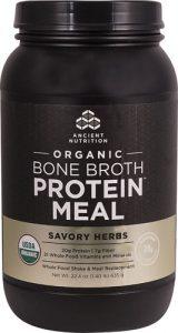 Ancient Nutrition Organic Bone Broth Protein™ MEAL Savory Herbs -- 15 Servings   Comprar Suplemento em Promoção Site Barato e Bom