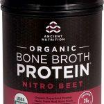 Ancient Nutrition Organic Bone Broth Protein Nitro Beet -- 17 Servings   Comprar Suplemento em Promoção Site Barato e Bom