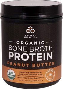 Ancient Nutrition Organic Bone Broth Protein Peanut Butter -- 17 Servings   Comprar Suplemento em Promoção Site Barato e Bom