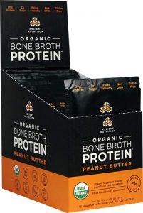Ancient Nutrition Organic Bone Broth Protein Peanut Butter -- 12 Packets   Comprar Suplemento em Promoção Site Barato e Bom