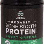 Ancient Nutrition Organic Bone Broth Protein Sweet Greens -- 17 Servings   Comprar Suplemento em Promoção Site Barato e Bom
