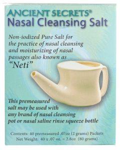 Ancient Secrets Nasal Cleansing Salt Packets -- 40 Packets   Comprar Suplemento em Promoção Site Barato e Bom