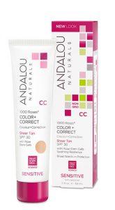 Andalou Naturals 1000 Roses™ CC Color + Correct SPF 30 Sheer Tan -- 2 fl oz   Comprar Suplemento em Promoção Site Barato e Bom