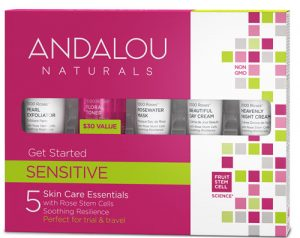 Andalou Naturals 1000 Roses® Get Started Kit Sensitive -- 1 Kit   Comprar Suplemento em Promoção Site Barato e Bom