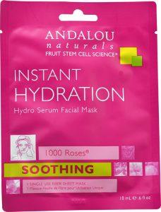 Andalou Naturals 1000 Roses® Hydro Serum Facial Sheet Mask -- 0.6 fl oz   Comprar Suplemento em Promoção Site Barato e Bom