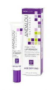 Andalou Naturals Age Defying Argan + Mint Lip Remedy -- 0.4 fl oz   Comprar Suplemento em Promoção Site Barato e Bom