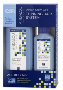 Andalou Naturals Age Defying Argan Stem Cell 3 Step System Kit -- 1 Kit   Comprar Suplemento em Promoção Site Barato e Bom