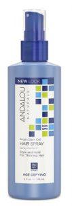 Andalou Naturals Age Defying Argan Stem Cell Hair Spray -- 6 fl oz   Comprar Suplemento em Promoção Site Barato e Bom