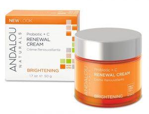 Andalou Naturals Brightening Renewal Cream Brightening Probiotic + C -- 1.7 fl oz   Comprar Suplemento em Promoção Site Barato e Bom