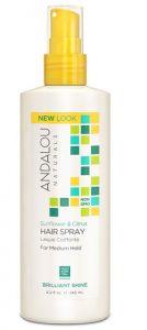 Andalou Naturals Brilliant Shine Hair Spray Sunflower and Citrus -- 8.2 fl oz   Comprar Suplemento em Promoção Site Barato e Bom
