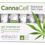 Andalou Naturals CannaCell® Botanical Skin Care Starter Kit -- 5 Piece Kit   Comprar Suplemento em Promoção Site Barato e Bom