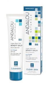 Andalou Naturals Clear Skin Argan Stem Cell BB Benefit Balm Un-Tinted SPF 30 -- 2 fl oz   Comprar Suplemento em Promoção Site Barato e Bom