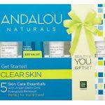 Andalou Naturals Clear Skin Get Started 5 Piece Kit -- 1 Kit   Comprar Suplemento em Promoção Site Barato e Bom